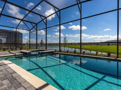 Photo for Modern Fable | 9 Bed Brand New Pool Home in Storey Lake Resort