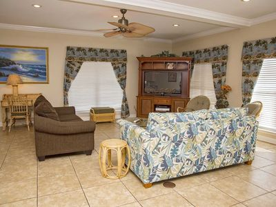 Photo for 10 BR ~ Gated ~ Pool/Beach Access ~ Palms Beach House ~ Sleeps 30!