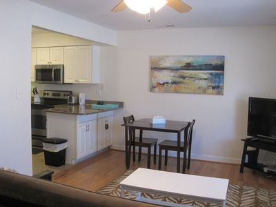 Photo for Beautiful 1st floor condo, about 15 minute walk from the Beach, famous Boardwalk