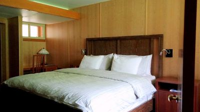 Photo for King Bed - private entry In A Boutique Style Historic Motel
