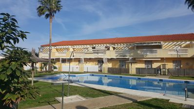 """Photo for Cozy Vacation Home """"Casa Costa Ballena Dahlia"""" Close to the Beach with Wi-Fi, Pool, Garden & Terrace; Parking Available; Pets Allowed"""