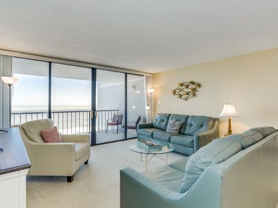 Photo for Spacious oceanfront condo located at the quiet end of Shore Drive