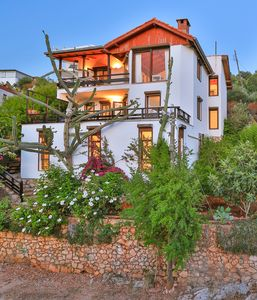 Photo for Beautiful villa for 10 persons in a fantastic location in Kas, Antalya, Turkey,