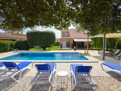 Photo for Club Villamar - Villa with private pool, garage, nice garden and terrace. A private atmosphere be...