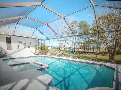 Photo for Privacy and Tranquility with Pool Just a Walk To The Gulf and Golf and More!