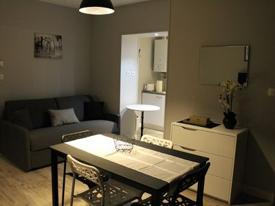 Photo for 33m2 apartment in residence with park + car parking place reserved