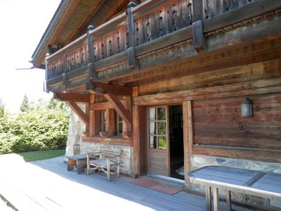 Photo for Chalet at the foot of the slopes, in the Mont-d'Arbois most exclusive district in MEGEVE
