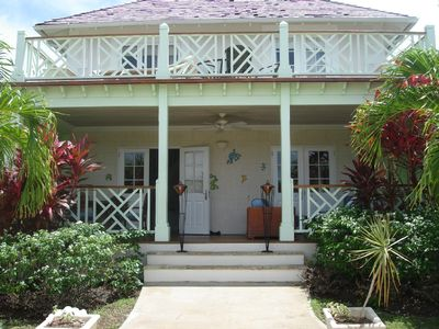 Photo for Beautiful Villa pool full aircon 2 mins to sea in St James 4 bedrooms/bathrooms