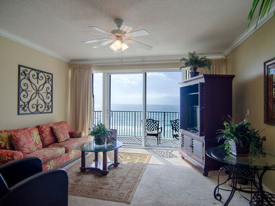 Photo for Upscale Beachfront Condo for Fun-Loving Families. BONUSES: FREE Round of Drinks, Beach Chairs