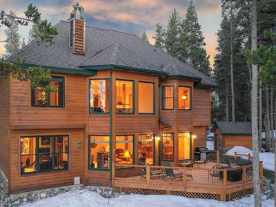 Photo for BRAND NEW LISTING! A true Breckenridge retreat. Stunning and spacious home
