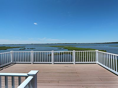 Photo for F85ST: Dog friendly 5BR Seatowne SFH | Tennis courts & community fishing pier!