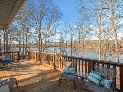 Photo for Perfect Lake Hartwell Getaway-Gorgeous Lake Views!