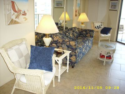 Photo for Sunglow Resort on Beach/Super 1BR Condo/Great Ocean View-Sep Spec'l/Pool/Hot Tub