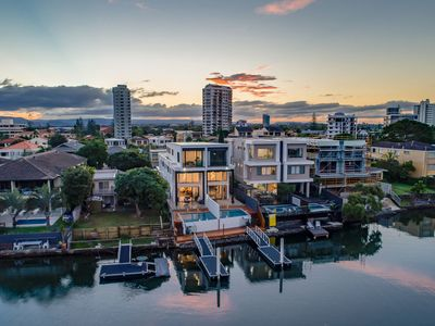 Photo for Surfers Paradise Luxury Waterfront Family Holiday House Best Gold Coast Location