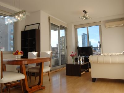 Photo for 2 Bedrooms Great Modern Tower, Palermo Soho, Oro & Paraguay