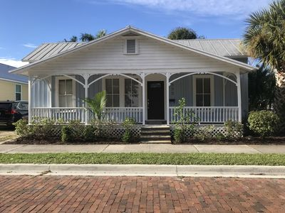 Photo for The Blue house in historic downtown Punta Gorda