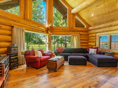 Photo for 2-Bedroom Grizzly Cabin with Loft in Wanship