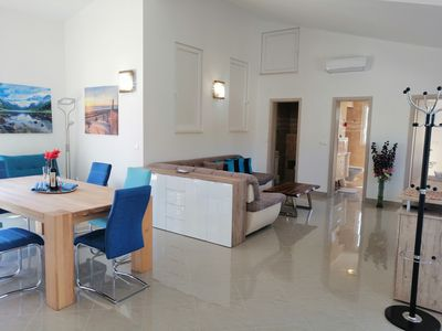 Photo for Apartment Penthouse by the sea (71791-A2) - Vrboska - island Hvar