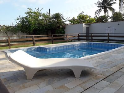 Photo for house massaguaçu 4 suites air conditioning pool ana