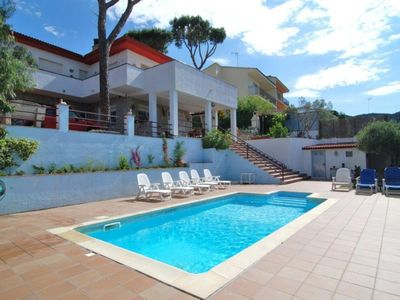 Photo for Club Villamar - Nice Villa on a plot of 1100m2 with large privat pool and parking area