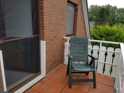 Photo for Upper apartment in Westeraccum with balcony