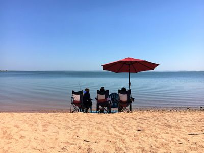 Photo for Lakefront Log Cabin 4 on the Beautiful Shores of Lake Buchanan