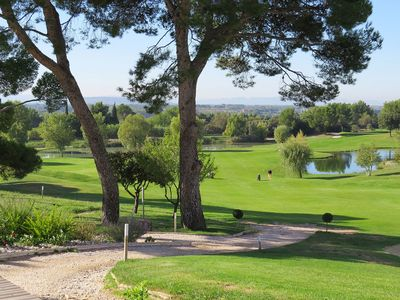 Photo for Apartment T3 in the golf of Saumane de Vaucluse