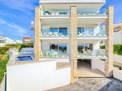 Photo for modern and new apartment with sea view and pool