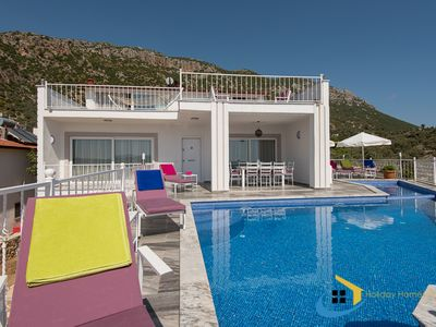Photo for VILLA KALKAN CHARM, nestled in the outskirts of Kalkan overlooking the bay