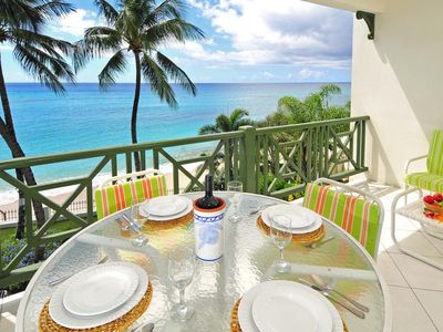 Photo for Easy-Going Beachfront Apartment with Pool - Leith Court 11