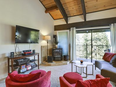 Photo for Peaceful Summer Condo Less Than a Mile from the base of Alpine Meadows Resort. Only 10 Minutes to Tahoe City. Perfect location for all Tahoe Summer activities!