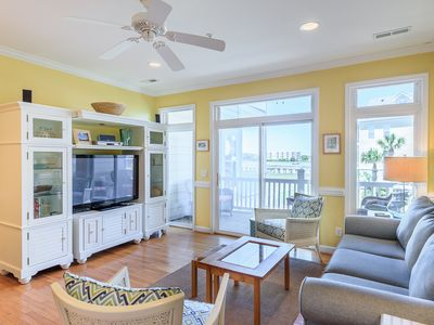 Photo for 21 TURTLE BAY-CAROLINA TIDES-GORGEOUS RIVER VIEW- POOL-MINUTES TO THE BEACH!