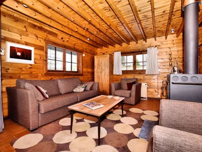 Photo for Attractive Chalet in Saint-Hubert with Terrace and Garden