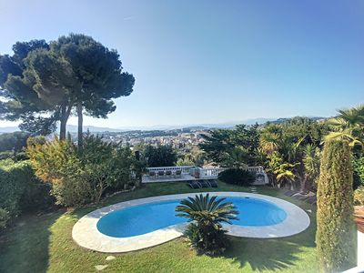 Photo for ⚜ Splendid villa in the heights - Cannes