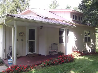 Photo for COMFORTABLE, HOMEY, FULLY RENOVATED MOUNTAIN COUNTRY COTTAGE