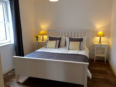 Double room - King size double bed and good storage.