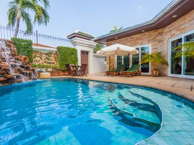 Photo for Excellent 3 Bedroom Pool Villa close to the beach