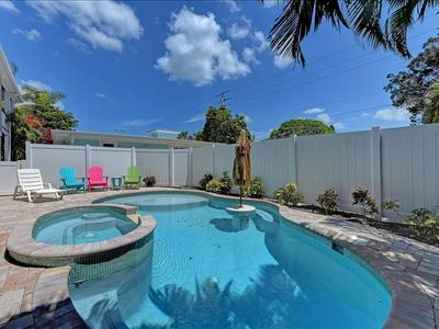Centrally located pool home.