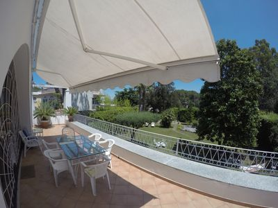 Photo for Large apartment in a villa in Ischia