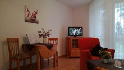 Photo for 2 rooms App. A + - Wohnpark Binz (with indoor pool)