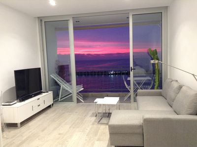 Photo for Loft Where you can delight one spectacular dawn. In front of the sea. complete