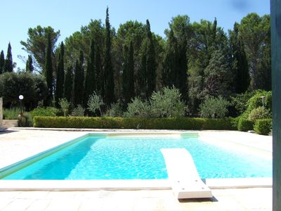 Photo for Spacious Villa with Large Pool in 2.5 acres.