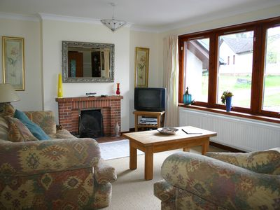 Photo for detached modern 4 bedroomed bungalow next to Black Wood of Rannoch