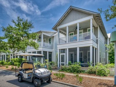 Photo for 4-Seater Golf Cart! 5 Bikes! 3 King Suites! DragonFly Pool Adjacent! Blessed Beaches at WaterColor