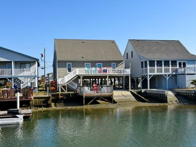 Photo for Anchor Management, Beautiful Channel Home in Cherry Grove with Great Views