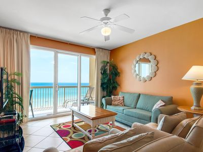 Photo for ☀BeachFRONT Calypso 2-504 West-3BR☀WOW! Oct 19 to 22 $747 Total! 2 Pools!