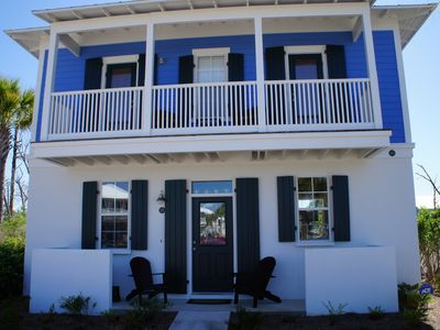 Photo for Cute bungalow steps from Seagrove Beach between Destin and Panama City
