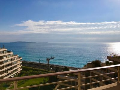 Photo for Rooftop, sea front 3 Bdr, parking and large terrace apartment