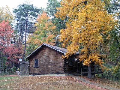 Photo for Blue Rose Cabins - Lincoln Log Cabin