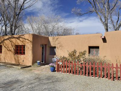 Photo for 1920s Single Story Adobe Home - Walk to everything Santa Fe - Car Unnecessary